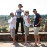 Frank Anna Tim Sally temples in Bagan