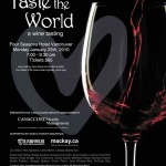 Taste the World  Invitation