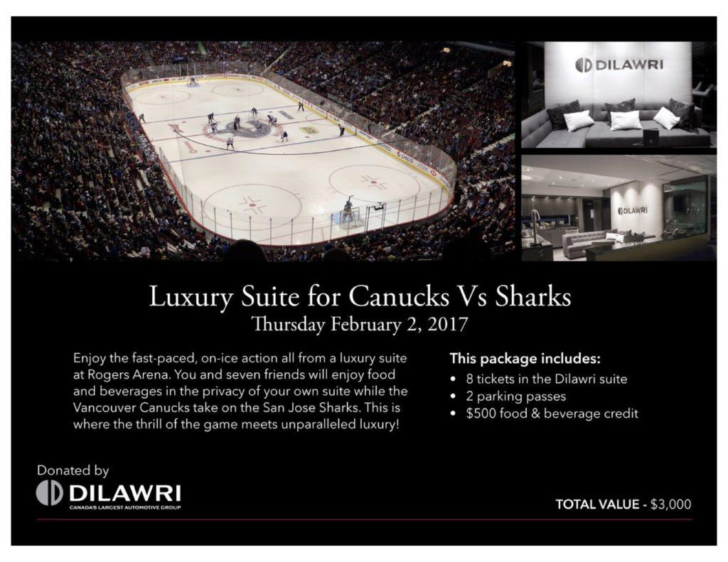 NHL Canucks vs San Jose Sharks Feb 2:2017