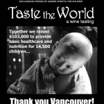 Thank you Vancouver! Taste the World 2013, Another Outstanding Success