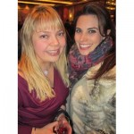 West Vancouver realtor Alexis Palkowski and Once Upon a Time actress Meghan Ory at the Taste the World wine sampling soiree.