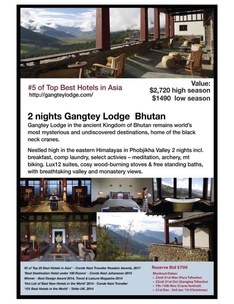 Gangtey Lodge Bhutan