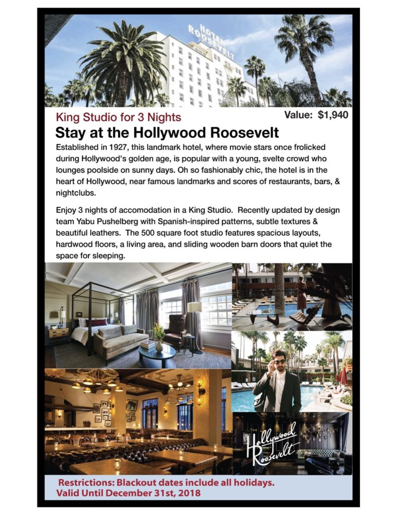 Hollywood Roosevelt King Suite