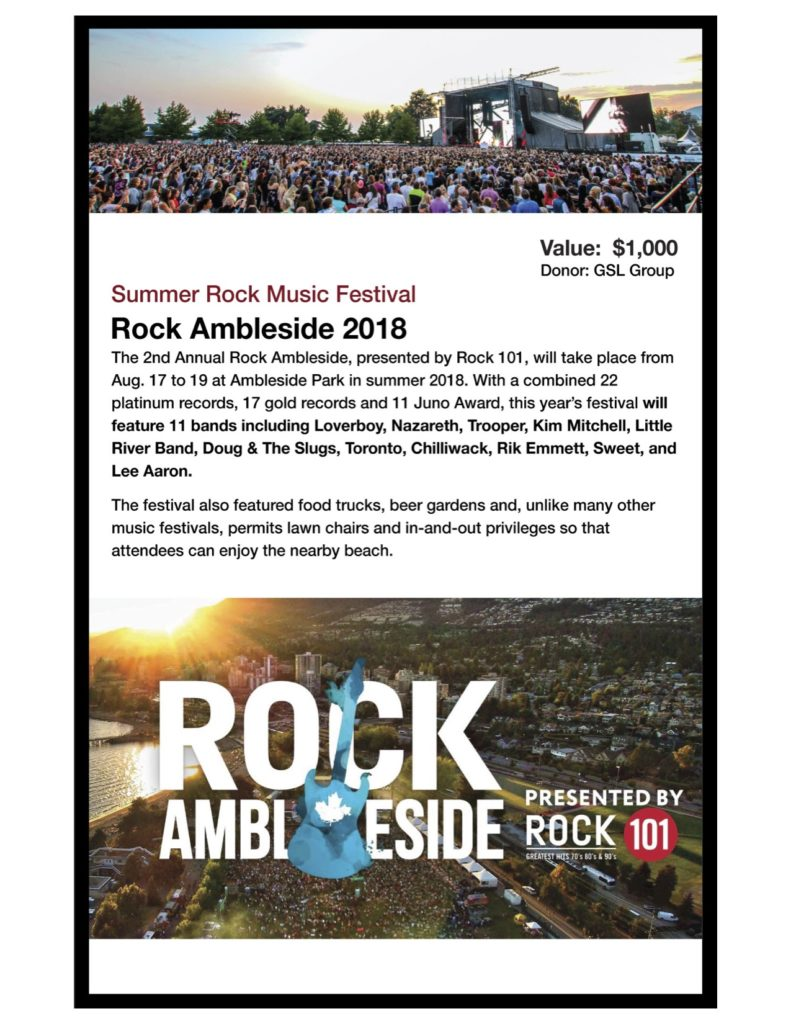 Rock Ambleside VIP Pass